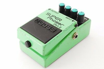 Boss PH-2 Super Phaser Guitar Effect Pedal Excellent From Japan