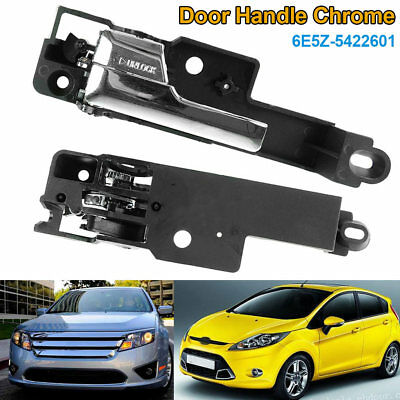 Inside Interior Door Handle Chrome Front Left Driver Side for 06-12 Fusion MKZ
