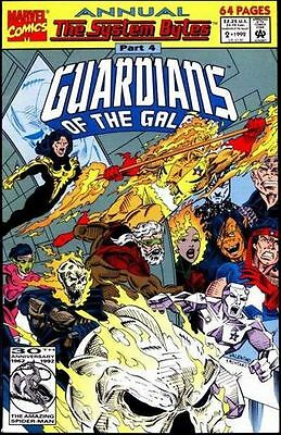 GUARDIANS  of  the  GALAXY   { Marvel  -  1992}  ANNUAL   ## 2