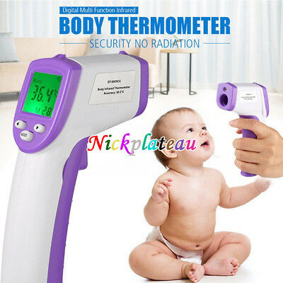 LCD Digital IR Infrared Thermometer Baby Body Non-Contact Laser Temperature Gun