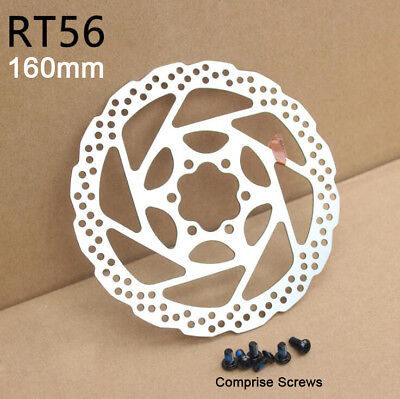 160mm Cycling Bicycle MTB Bike Disc Brake Rotor With 6 Bolts For Shimano SM-RT56
