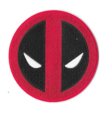 DEADPOOL IRON ON / SEW ON PATCH Embroidered Badge Motif Comic Movie PT83