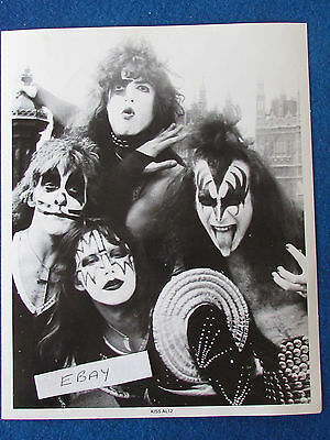 "Original Press Promo Photo - 10""x8"" - KISS - 1982"
