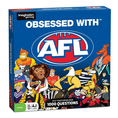 Obsessed with AFL Board Game NEW