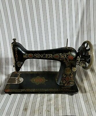 Singer sewing machine for a pedal table