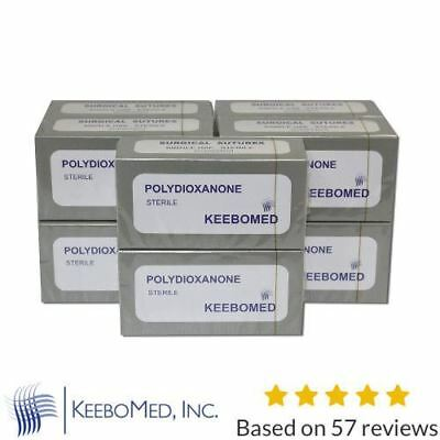 Lots of 10 Boxes - Veterinary sutures Polydioxanone PDS PDO - Veterinary