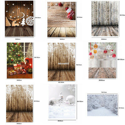 Christmas Party Photography Backdrop Photo Studio Prop Background Decoration