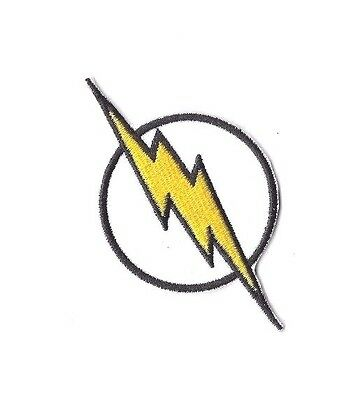 FLASH LOGO Iron on / Sew on Patch Embroidered Badge Barry Allen TV PT208