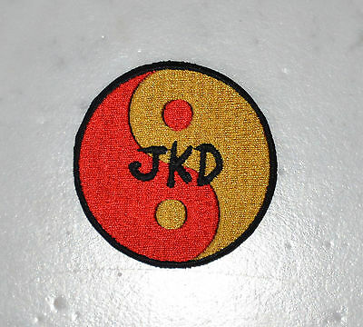 JKD IRONON PATCH Jeet Aufnäher Parche Kune brodé patche toppa Do Chinese Kung Fu