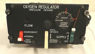 Bendix /Drägerwerk Oxygen Regulator - Pressure Demand