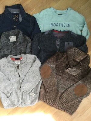 BABY BOYS 12-18 MONTHS BUNDLE TOPS, JUMPERS, SHIRTS, NEXT, ZARA, H&M Etc