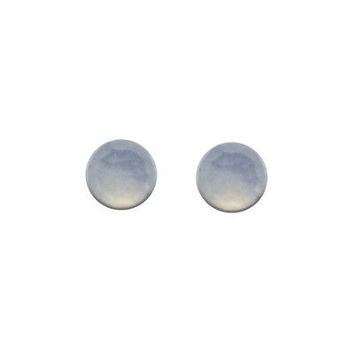 6x6mm 1pair AAA Quality Rose Cut Faceted Cabochon Chalcedony Loose Gems