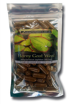 Horny Goat Weed ( 80:1 equivalent to 40,000mg ),30-90  Vegetarian Capsules