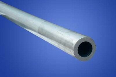1pc ALUMINIUM ROUND TUBE - 11mm OD 8mm ID x 100mm LONG