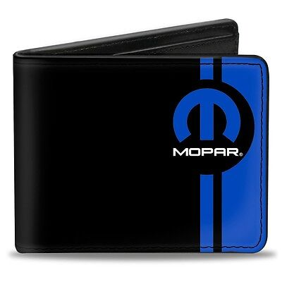 Leather style PU Mopar logo wallet - great gift! Dodge Plymouth Chrysler