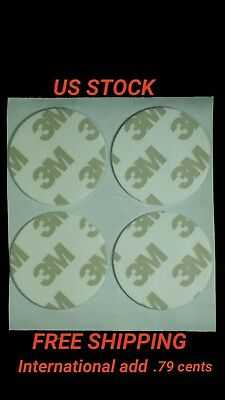 4 Replacement Adhesive Pads for Popsockets & Pops. High Quality 3M Adhesive.