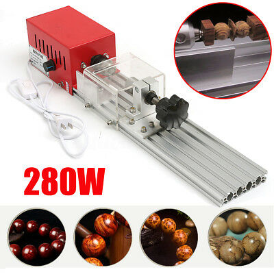 280W Powerful DIY Wood Lathe Beads Machine Grinding Cutting Drill Rotary Tool