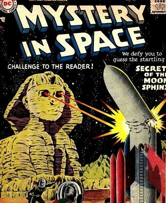Mystery In Space - 117 issues US of Vintage Science Fiction Comics on DVD
