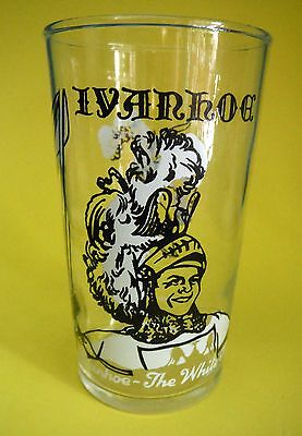 Federal Glass / Drinking Glass / Ivanhoe The White Knight / Screen Gems 1958