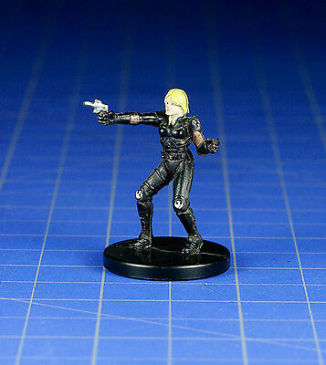 Star Wars miniatures minis Legacy Of The Force Deena Shan #12 & card WOTC
