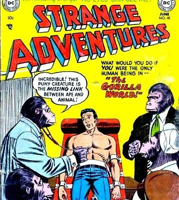 Strange Adventures - 244 Issues of US Vintage Science Fiction Comics on DVD