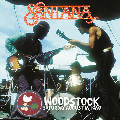 Santana - Woodstock Saturday August 16, 1969 New Vinyl LP