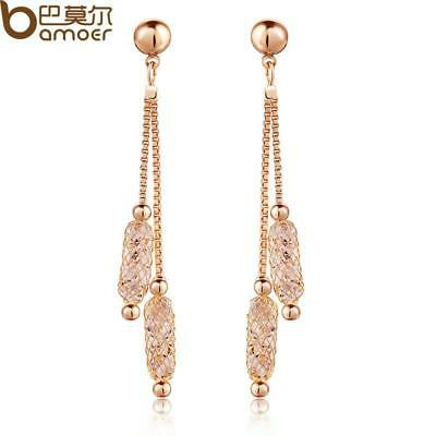 Drop Earrings Wire Zircon Crystal