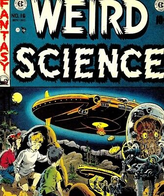 Weird Science & Weird Fantasy - US Vintage Science Fiction Comics on DVD