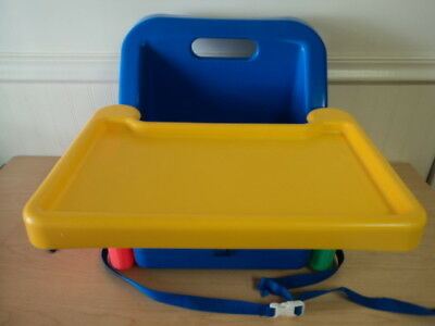 Vintage 1993 Safety 1St First Booster Seat High Chair Foldable With Tray - Vguc