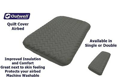 Outwell Airbed Quilt Cover - Double & Single Available