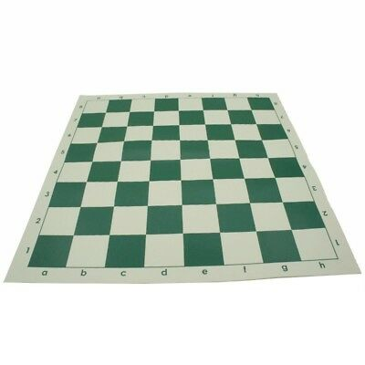 Chessboard 35cm*35cm PVC Chess Game Chess Accessories Portable Green