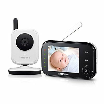 Samsung SEW-3036W BabyVIEW Baby Monitoring System IR Night Vision Zoom 3.5in