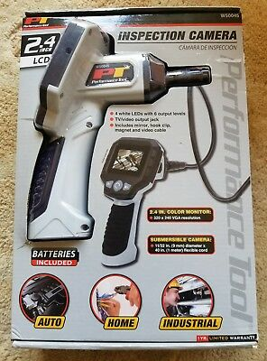 Performance Tool 2.4 in. LCD Inspection Camera W50045 Brand NEW in Sealed Box