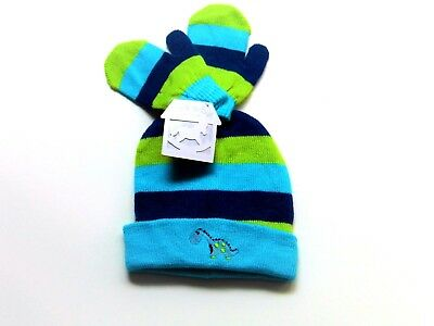 Baby Boy Hat & Mitts Sets
