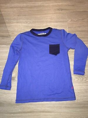 Crew cuts Boys Rash guard Shirt Long Sleeve Blue Swim 4-5 Jcrew
