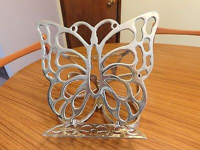 Vintage Brass Butterfly Book/Bible Stand