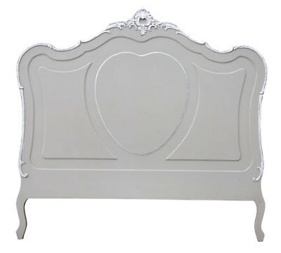 Charmont Gris French Style Kingsize Wood Headboard W157 X D4 X H150cm
