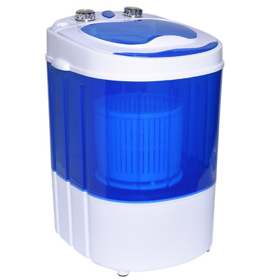 Ivation Mini Portable Washer/Spinner – Compact Size Perfect for Travel, Dorms &