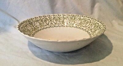 Serving Bowl J & G Meakin England Classic Forum China Green Excellent
