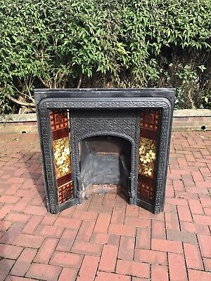 Edwardian Fire Place (possibly Victorian?) Cast Iron