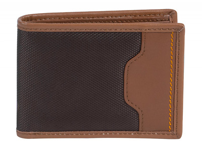 Travelon Safe Id Accent Deluxe Billfold Wallet, One Size, Saddle