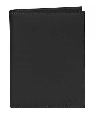 Travelon Safe Id Leather Passport Wallet, One Size, Black