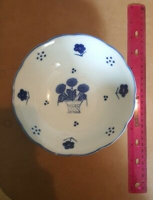 Blue and White decorative china bowl