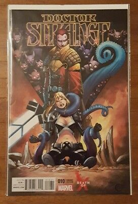 Doctor Strange #12 Death of X Variant NM Magik
