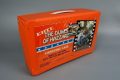 Scarce ERTL Dukes of Hazzard Carry Storage Case for 1/64 Cars 1981