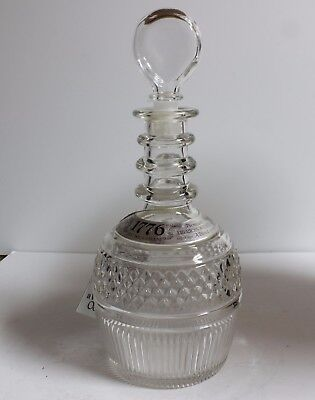 1776 Seagrams Decanter Designed By Tiffany & Co.
