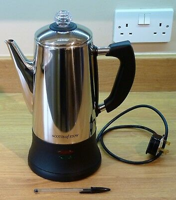 Electric Coffee Percolator. Electric Coffee Maker Scotts of Stow.