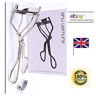 Shu Uemura Eyelash Curler with Refill Rubber Pad in Box GENUINE UK SELLER