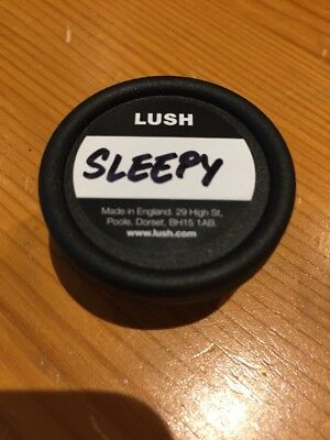 LUSH Sleepy Body Lotion. 10g Sample Pot. 100% Authentic