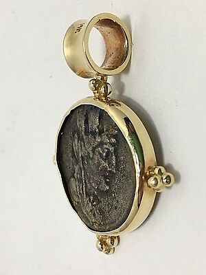 Byzantine Pendant Ancient Gold and Bronze